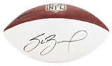 Sam Bradford Autographed Philadelphia Eagles Official NFL Wilson Football (Press Pass)