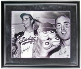Sandy Koufax - Nolan Ryan Dual Autographed & Framed 16x20 Photo (UDA COA)
