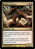 Magic the Gathering Alara Reborn Single Sanity Gnawers FOIL