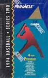 1994 Pinnacle Series 2 Baseball 24 Pack Box