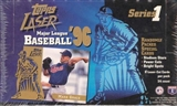1996 Topps Laser Series 1 Baseball Hobby Box