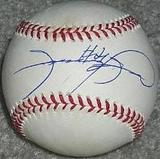 Sammy Sosa Autographed Chicago Cubs Official MLB Rawlings Baseball