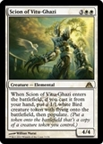 Magic the Gathering Dragon's Maze Single Scion of Vitu-Ghazi Foil