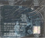 1997 Upper Deck SPx Basketball Hobby Box