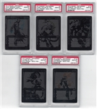 Magic the Gathering 2013 SDCC Black Planeswalker Complete Set PSA 10