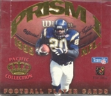 1995 Pacific Prism Series 1 Football Hobby Box