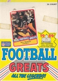 1989 Swell Greats Football Wax Box