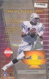 1999 Collector's Edge Triumph Football Hobby Box