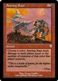 Magic the Gathering Invasion Single Searing Rays Foil