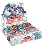 Konami Yu-Gi-Oh The Secret Forces 1st Edition Booster 12-Box Case (Presell)