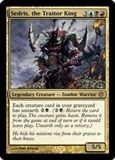Magic the Gathering Shards of Alara Single Sedris, the Traitor King FOIL