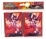 World of Warcraft Selora the Succubus Card Sleeves 80 Count Pack