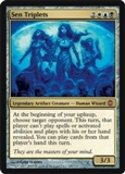 Magic the Gathering Alara Reborn Single Sen Triplets UNPLAYED (NM/MT)
