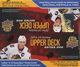 2014/15 Upper Deck Series 1 Hockey 24-Pack Box