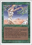 Magic the Gathering Unlimited Single Shanodin Dryads - NEAR MINT (NM)