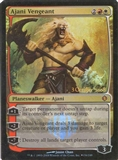 Magic the Gathering Promo Single Ajani Vengeant Foil (Prerelease) - NEAR MINT (NM)