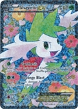Pokemon Legendary Treasures Single Shaymin EX RC21/RC25 FULL ART - NEAR MINT (NM)