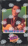 The Elvis Collection the Cards of His Life Series 1 Box (1992 River Group)