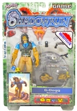 WizKids Shadowrun: Duels Series One G-Dogg Figurine