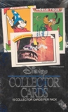 Disney Collector Cards Hobby Box (1991 Impel)
