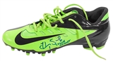 "Hope Solo Autographed Team USA Olympic Nike Cleat w/""2X Gold Medalist"" Inscript. (JSA)"