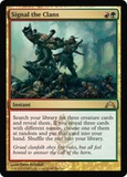 Magic the Gathering Gatecrash Single Signal the Clans - NEAR MINT (NM)