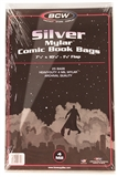 Silver Age Comic Book Mylar 4 Mil Bags 25 ct.