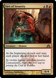 Magic the Gathering Dragon's Maze Single Sire of Insanity UNPLAYED (NM/MT)