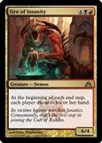 Magic the Gathering Dragon's Maze Single Sire of Insanity Foil