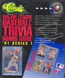 1991 Classic Major League Baseball MLB Trivia Board Game Series 1