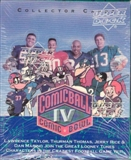 1992 Upper Deck Comic Ball Series 4 Football Hobby Box