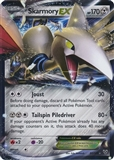 Pokemon X and Y Single Skarmory EX 80/146 - NEAR MINT (NM)