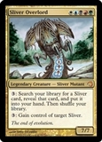 Magic the Gathering Slivers Deck Single Sliver Overlord Foil