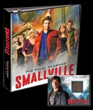 Smallville Seasons 7-10 Trading Cards Binder (Cryptozoic 2012)