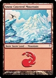 Magic the Gathering Coldsnap Single Snow-Covered Mountain - NEAR MINT (NM)