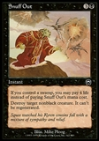 Magic the Gathering Mercadian Masques Single Snuff Out FOIL - SLIGHT PLAY (SP)