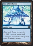 Magic the Gathering Mirrodin Single Seat of the Synod FOIL