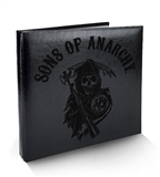 Sons of Anarchy Seasons 1-3 Trading Cards Binder (Cryptozoic 2014)