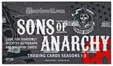 Sons of Anarchy Seasons 1-3 Trading Cards Box (Cryptozoic 2014)