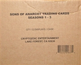 Sons of Anarchy Seasons 1-3 Trading Cards 12-Box Case (Cryptozoic 2014)