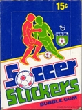 1979 Topps NASL Soccer Stickers Wax Box