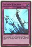 Yu-Gi-Oh Gold Series 5 Single Solemn Judgment Ghost Rare
