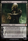Magic the Gathering Zendikar Single Sorin Markov - SLIGHT PLAY (SP)