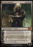 Magic the Gathering 2012 Single Sorin Markov FOIL - SLIGHT PLAY (SP)