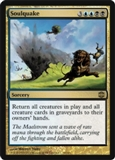 Magic the Gathering Alara Reborn Single Soulquake Foil