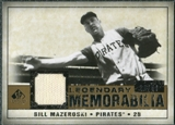 2008 Upper Deck SP Legendary Cuts Legendary Memorabilia #BM Bill Mazeroski /50