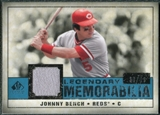 2008 Upper Deck SP Legendary Cuts Legendary Memorabilia Blue #BE Johnny Bench /99
