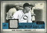 2008 Upper Deck SP Legendary Cuts Legendary Memorabilia Blue #BF Bob Feller /99