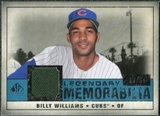2008 Upper Deck SP Legendary Cuts Legendary Memorabilia Blue Parallel #BW Billy Williams /99