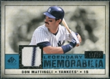 2008 Upper Deck SP Legendary Cuts Legendary Memorabilia Blue Parallel #DM2 Don Mattingly /99
